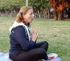 Yoga bidrar til å øke personens bevissthet og du kommer i mer harmoni med deg selv. Foto: Scanpix