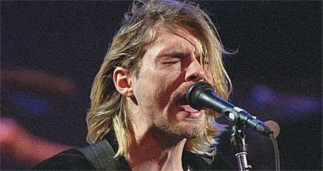 Kurt Cobain døde 5. april 1994. Foto: Robert Sorbo, AP.