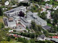 Voss sjukehus. Foto: Helse Bergen
