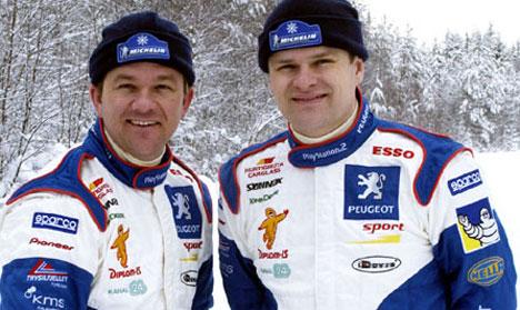 Henning Solberg og Cato Menkerud