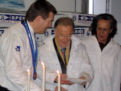 President Jorge Sampaio var spesielt imponert over klippfisksuppa