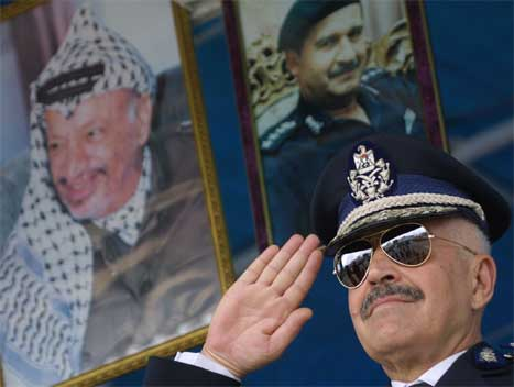 Den palestinske politisjefen skal ha overlevd et attentat i dag. (Scanpix-foto)