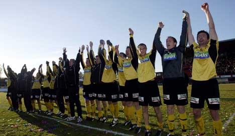 Moss fotballklubb styrker stallen før 2004-sesongen i 1. divisjon. Foto: Erik Johansen / SCANPIX