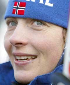 Liv Grete Skjelbreid Poirée er favoritt igjen etter oppvisningen på sprinten. (Foto: AFP/Scanpix)