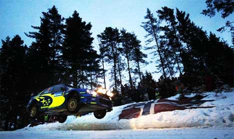 Hoppet gjør Colins Crest til en av Rally-VMs mest populære steder å være (Foto: Tor Richardsen/Scanpix)