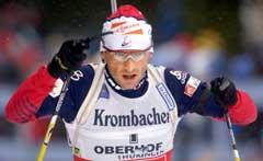 Raphael Poirée er blitt bedre i norsk det siste året, men Emma er tospråklig, sier Gro Eikeland. (Foto: AP/Scanpix)