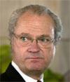 Kanskje kommer den svenske kongen til åpningen av ny Svinesundbru i 2005.