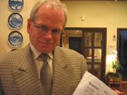 Direktør i Rådet for Drammensregionen, Dankert Freilem.
