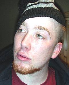 MC Kapabel fra gruppa Fremmed Rase gleder seg til 2xH. Foto: Fremmedrase.no.