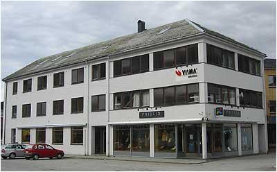 Frislids første fabrikk og utsal 400p foto Ottar Starheim