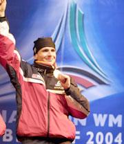 Nok en gullmedalje til Raphael Poirée (Foto: Heiko Junge / SCANPIX)