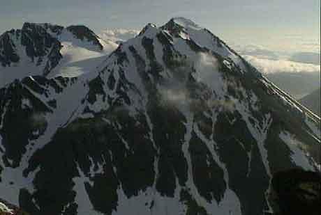 Teamet fra National Geographic er imponert over den flotte naturen. Bildet er fra Lyngsalpene.