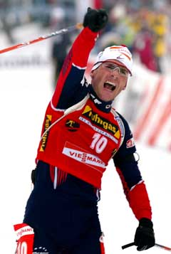 Raphael Poiree vant i suveren stil.(Foto: AP/Scanpix)