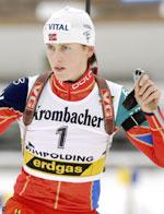 Gro Marit gikk andre etappe torsdag (Foto: Heiko Junge / SCANPIX)