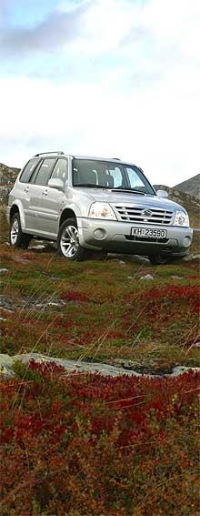 Suzuki Grand Vitara XL-7 i sitt rette element. (Foto: Suzuki)