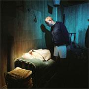 Alf Nordvang som Davies og Jon Ketil Johnsen som Aston. Foto: Emile Ashley.