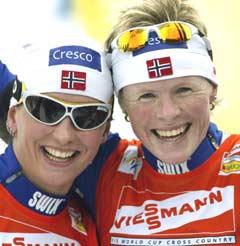 Marit Bjørgen vil ha med Hilde GP også neste år (Foto: Scanpix/Terje Bendiksby)