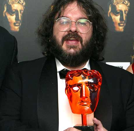 Peter Jackson fikk BAFTA prisen 2004. Foto: Scanpix
