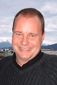 Rune Hustad er ein av dei 55 som arbeidar ved NRK Møre og Romsdal. (Foto: NRK/Kjell Jøran Hansen)
