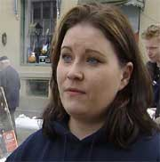 Monita Skaali er leder i Studentparlamentet.