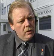Ordfører i Halden, Per Kristian Dahl.