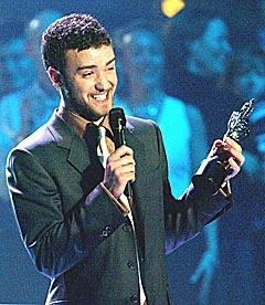 Britneys ekskjæreste Justin Timberlake skal også være dårlig til å skrive autografer. Foto: Reuters/Scanpix.