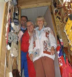Hjemme hos Karen Marie Strøm. Foto: NRK