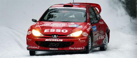 Henning Solberg imponerte i Sverige med en 6. plass. Nå nærmer Henning seg et fabrikksete. (Foto: Scanpix/Tor Richardsen)
