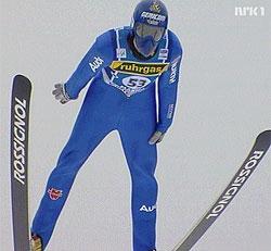 Georg Späth leder etter første dag av VM i skiflyging.