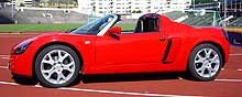 Opel Speedster Turbo.
