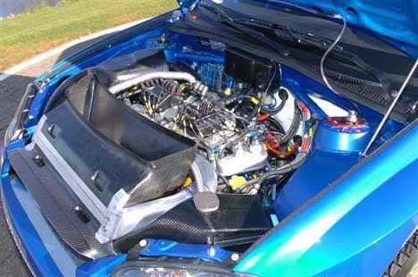 - Motoren kunne ha vært enda bedre, men den er bra, og morsom å kjøre. Petter Solberg til NRK. Foto: www.swrt.com