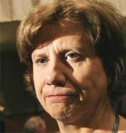 LO-leder Gerd-Liv Valla sier at lavlønnsharselas vekker kamplysten. (Foto: Scanpix)