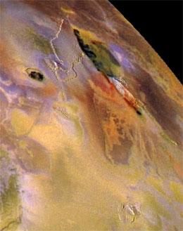 Bildet av Jupiter er tatt av romskipet Galileo 3. juli 1999. Foto: AP/Scanpix