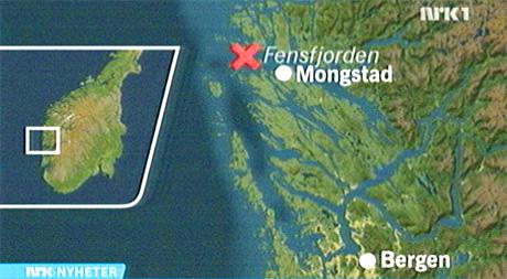 kart mongstad Grunnstøtt lasteskip berget – NRK Hordaland – Lokale nyheter, TV  kart mongstad