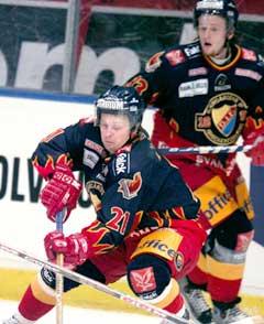 Espen Knutsen og Djurgården ble slått ut av det svenske sluttspillet.(Foto: Stefan Jerrevång / SCANPIX)