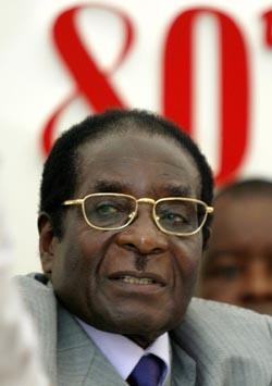 Zimbabwes president Robert Mugabe feiret nylig sin 80-årsdag. Foto: Howard Burditt, Reuters/Scanpix.