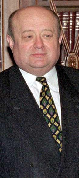 MIkhail Fradkov blir ny statsminister i Russland. (Scanpix-foto)