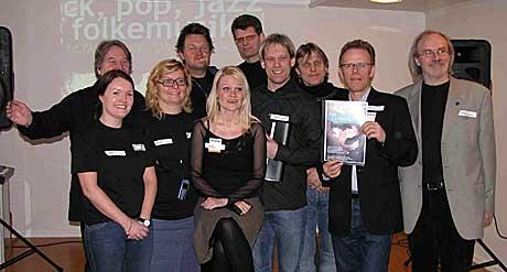 """Musikkoppropet Samstemt"""" har blitt hørt. Bak Samstemt står organisasjonene FONO, GramArt, Landslaget for Spelemenn, NorgesNettet, Norsk Folkemusikk- og Danselag, Norsk Jazzforum og Norsk Rockforbund. Foto: Leif Gjerstad, NRK.no/musikk."""