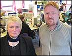 Magni Øvrebotten blir sjef for Nynorsk mediesenter, medan Kai Aage Pedersen blir konstituert distrikts-redaktør. (Foto: Jostein Nyfløtt, NRK)