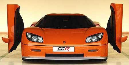 Koenigsegg CCR er toppmodellen. (Foto: Koenigsegg)