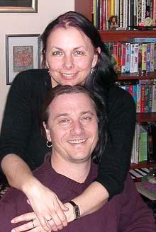 Nitimens samlivsekspert Dagfinn Sørensen vil helst ha kona Bente Træen for seg selv i påskedagene...