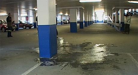 Drapet skjedde i parkeringshuset City Park i Bergen.
