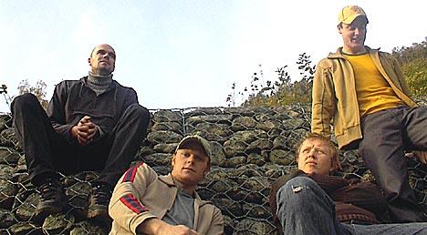 Fenrik Lane, Kurt Nilsens band som han spiller i når han har tid. Foto: Promo.