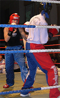 Mette Solli er overlegen i ringen. Foto: NRK