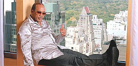 Jackson mente at Quincy Jones hadde fått nok Grammy-statuetter, skriver Yetnikoff. Foto: Jim Cooper, AP.