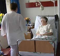 Mange ansatte på Sykehuset Innlandet har en krevende hverdag. (illustrasjonsbilde)