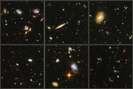Hubble-bilder frå Universet