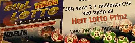 Stadig nye lottosystemer dukker opp på markedet.