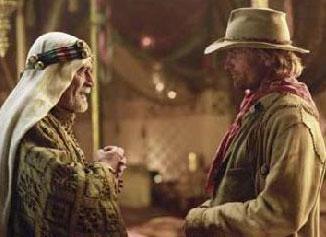 """Omar Sharif og Viggo Mortensen i """"Hidalgo"""" (Foto: Buena Vista International)"""