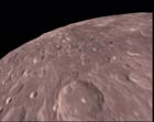 Månen (Illustrasjon: ESA)